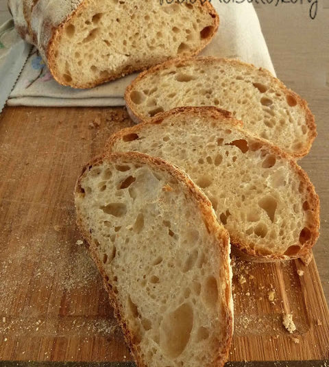 Pane bianco semplice