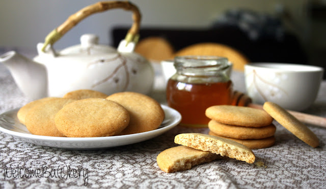 Biscotti al miele leggeri