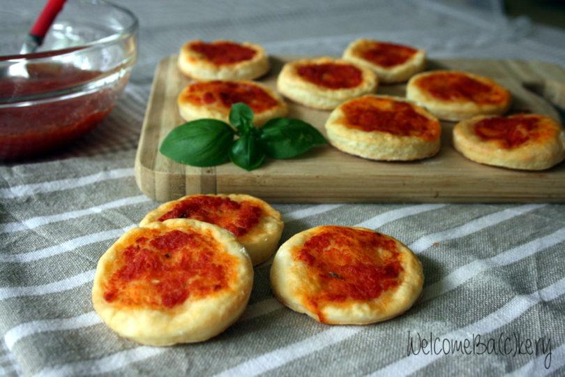 Pizzette allo yogurt greco, velocissime!