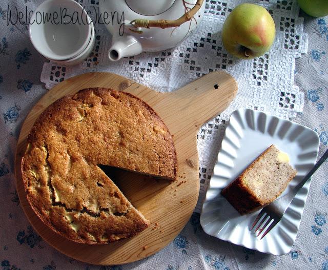 Torta di mele e grano saraceno, senza glutine
