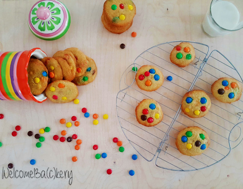 Cookies arcobaleno