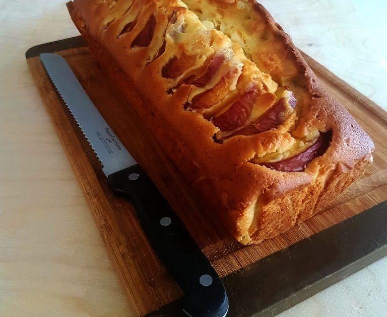 Torta morbida con pesche e albicocche, senza burro