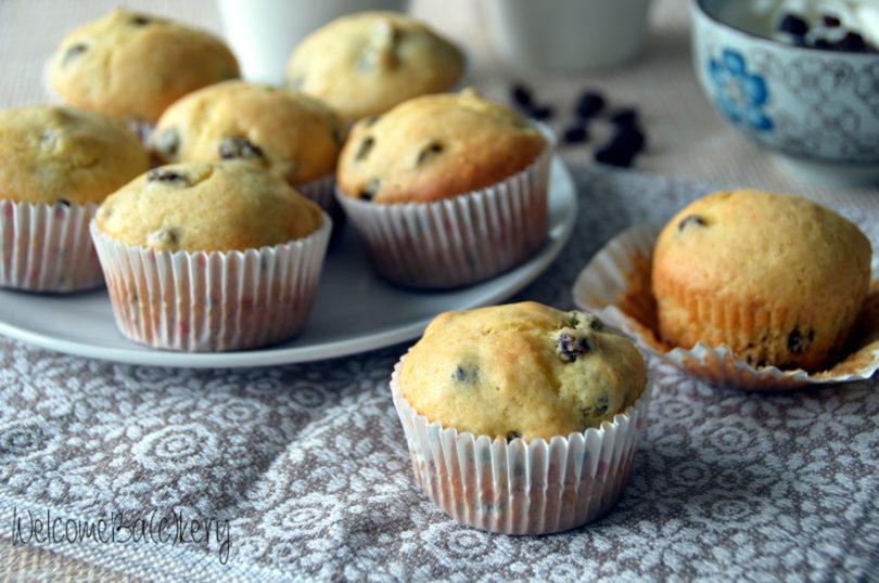 Muffins yogurt e uvetta