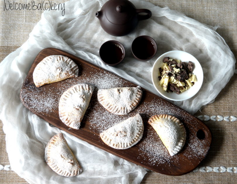 Chocolate dumplings