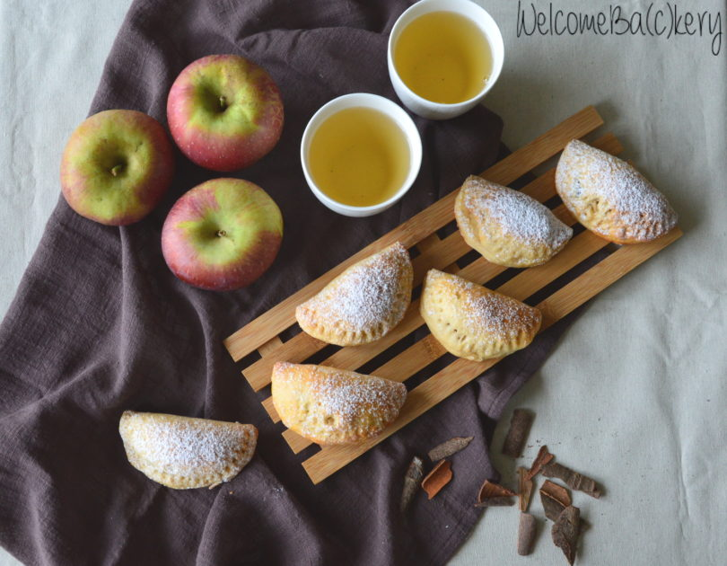 Fagottini di ricotta con le mele